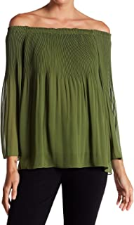 0f6c189d86f Max Studio Women s Large Off-Shoulder Pleated Knit Top