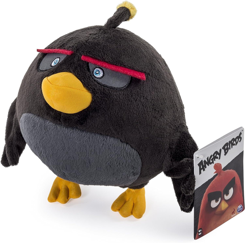 Angry Birds Stofftier Bomb Schwarz: Amazon.de: Spielzeug