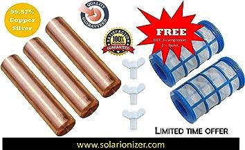 Replacement Remington Solar | Human Creations | Mananasun Compatible Anode (99.57% Copper-Silver) | 3-Pack - www.solarionizer.com