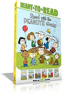 Read with the Peanuts Gang: Time for School, Charlie Brown; Make a Trade, Charlie Brown!; Peppermint Patty Goes to Camp; L...