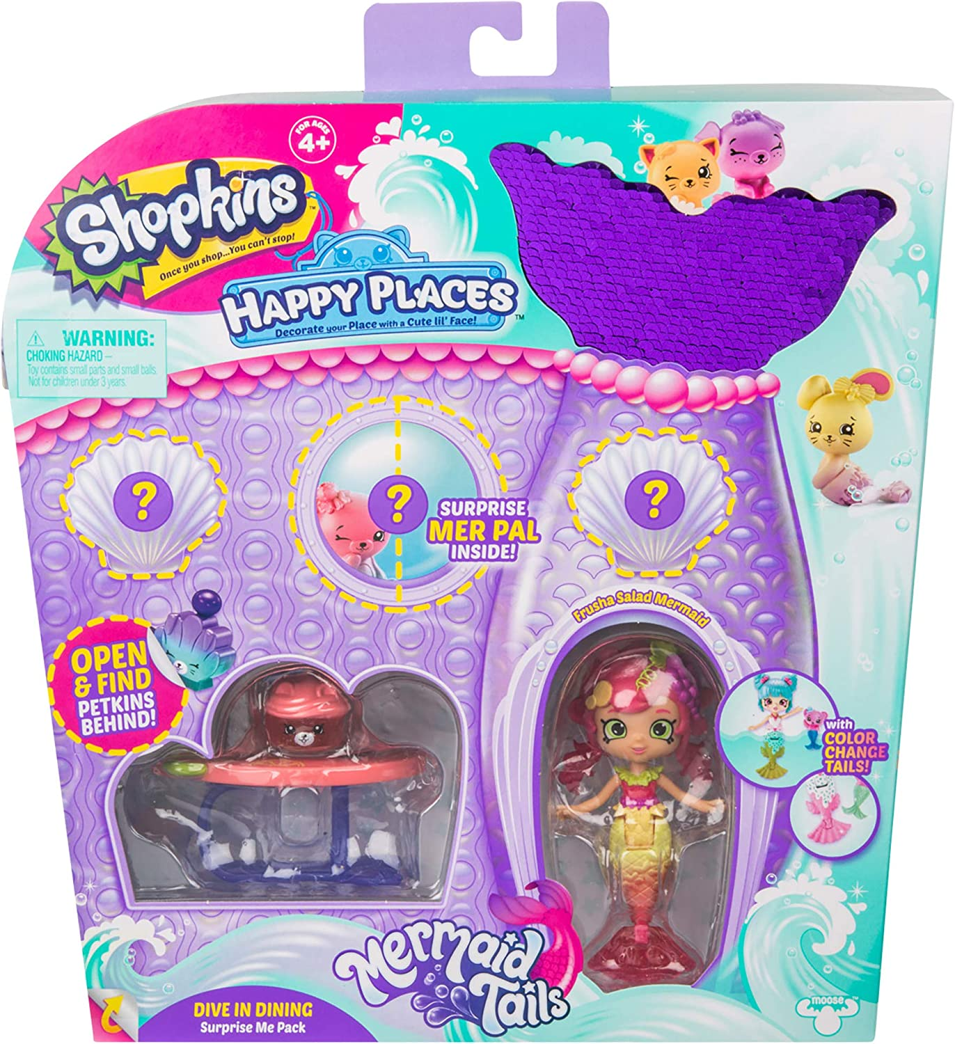 Happy Places Shopkins S6 Surprise Me Pack - Dive in Dining