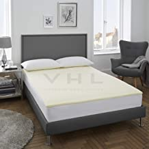 Gaveno Cavailia Premium Quality Soft Touch 2cm Memory Foam, Luxury Soft & Warm Anti-allergenic Breathable Bed Mattress, 10...