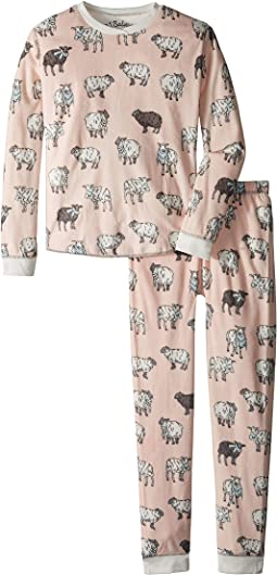 Sheep Velour Two-Piece Jammies Set (Toddler/Little Kids/Big Kids)