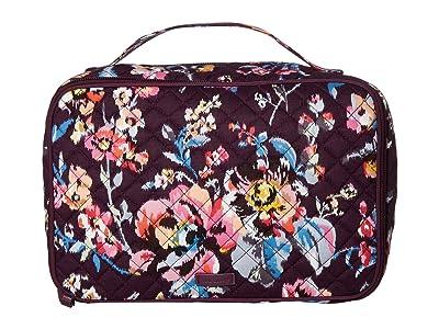 Vera Bradley Iconic Large Blush Brush Case (Indiana Rose) Luggage