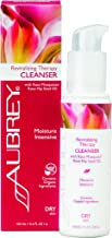 Aubrey Revitalizing Therapy Facial Cleanser   Hydrates, Smoothes & Nourishes Dry Skin   Rosa Mosqueta Rose Hip Oil   75% Organic Ingredients   3.4oz