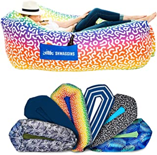 Best Chillbo Shwaggins Inflatable Couch – Cool Inflatable Chair. Upgrade Your Camping Accessories. Easy Setup is Perfect for Hiking Gear, Beach Chair and Music Festivals. Review
