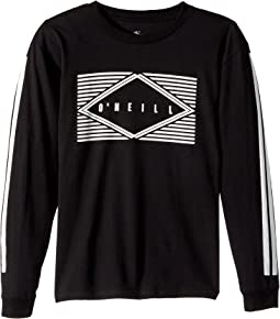 O'Neill Kids - Eyeball Long Sleeve Tee Screens Imprint (Big Kids)