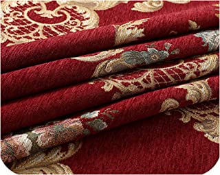 Table Cloth European Dining Table Cover Chair Cushion Cover Round Tablecloths,Red,200Cm Round