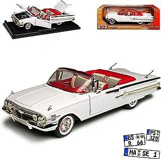 Chevrolet Impala rot 1959 Modellauto Fertigmodell Lucky Die Cast 1:18