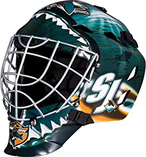 San Jose Sharks Unsigned Franklin Sports Replica Full-Size Goalie Mask - Unsigned Mask
