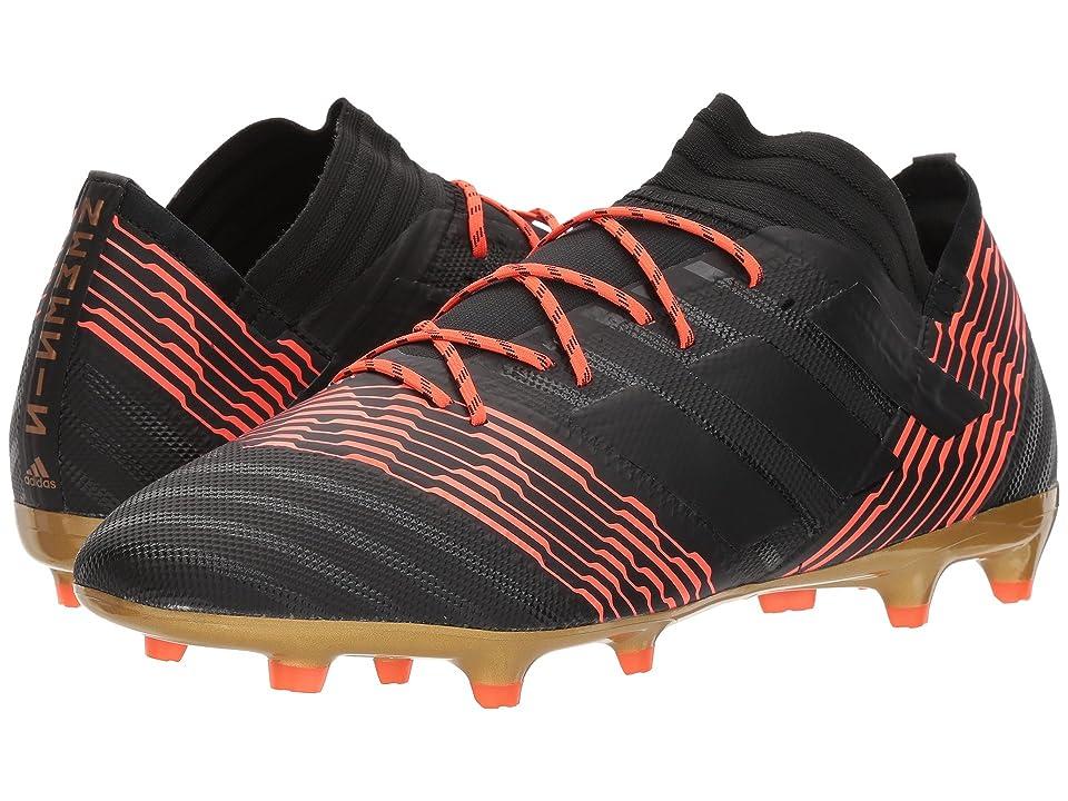 adidas Nemeziz 17.2 FG (Black/Black/Solar Red) Men