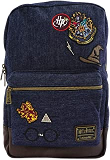 Loungefly Harry Potter Hogwarts Denim Backpack