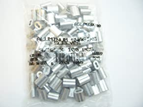 Aluminum Swage Sleeves for 3/32