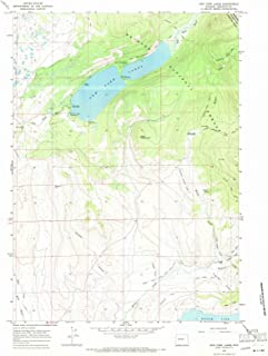 Wyoming Maps - 1967 New Fork Lakes, WY USGS Historical Topographic Map - Cartography Wall Art - 35in x 44in
