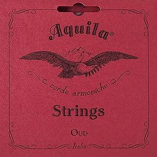Aquila Oud Strings Iraqi Tuning 11 Strings Red Nylgut Model 610