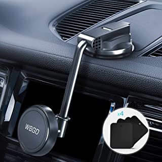 Phone Holder for Car, Upgraded Cell Phone Holder Mount for Car Windshield Dashboard with Strong Suction Cup for iPhone XR X 8 7 Se 6S 6 5S Galaxy S10 S9 S8 S7 S6 and More