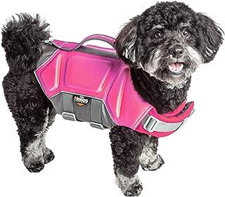 Dog Helios 'Tidal Guard' Multi-Point Strategically-Stitched Reflective Pet Dog Life Jacket Vest