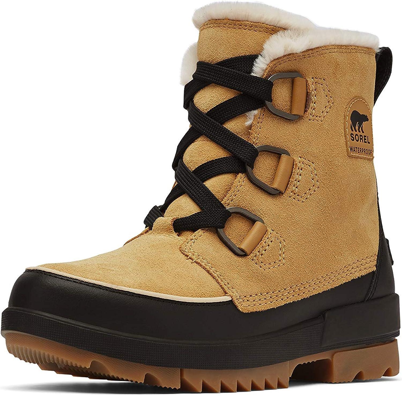 SOREL Women's Tivoli IV Boot — Curry — Waterproof Winter Boots — Size 6
