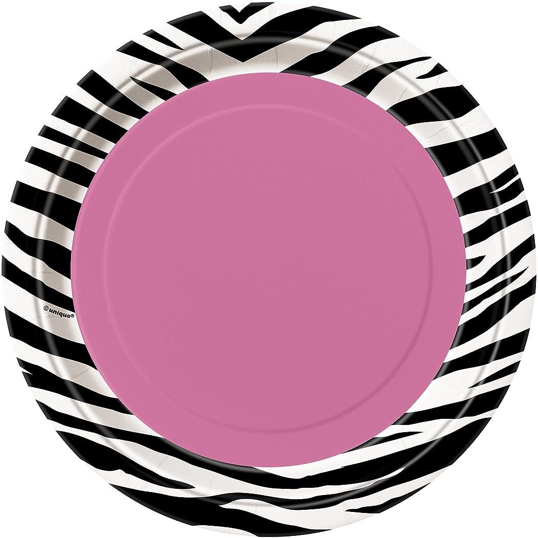 Zebra Print Dessert Plates, 8ct