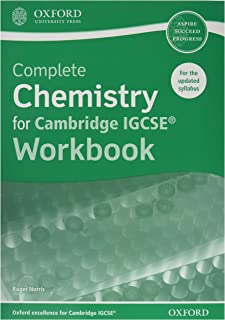Complete Chemistry for Cambridge IGCSE® Workbook: Third Edition