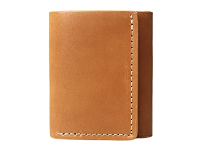 Filson Trifold Wallet (Tan Leather) Wallet Handbags