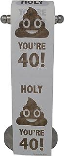 Happy 40th Birthday Toilet Paper Prank Funny Gag Gift