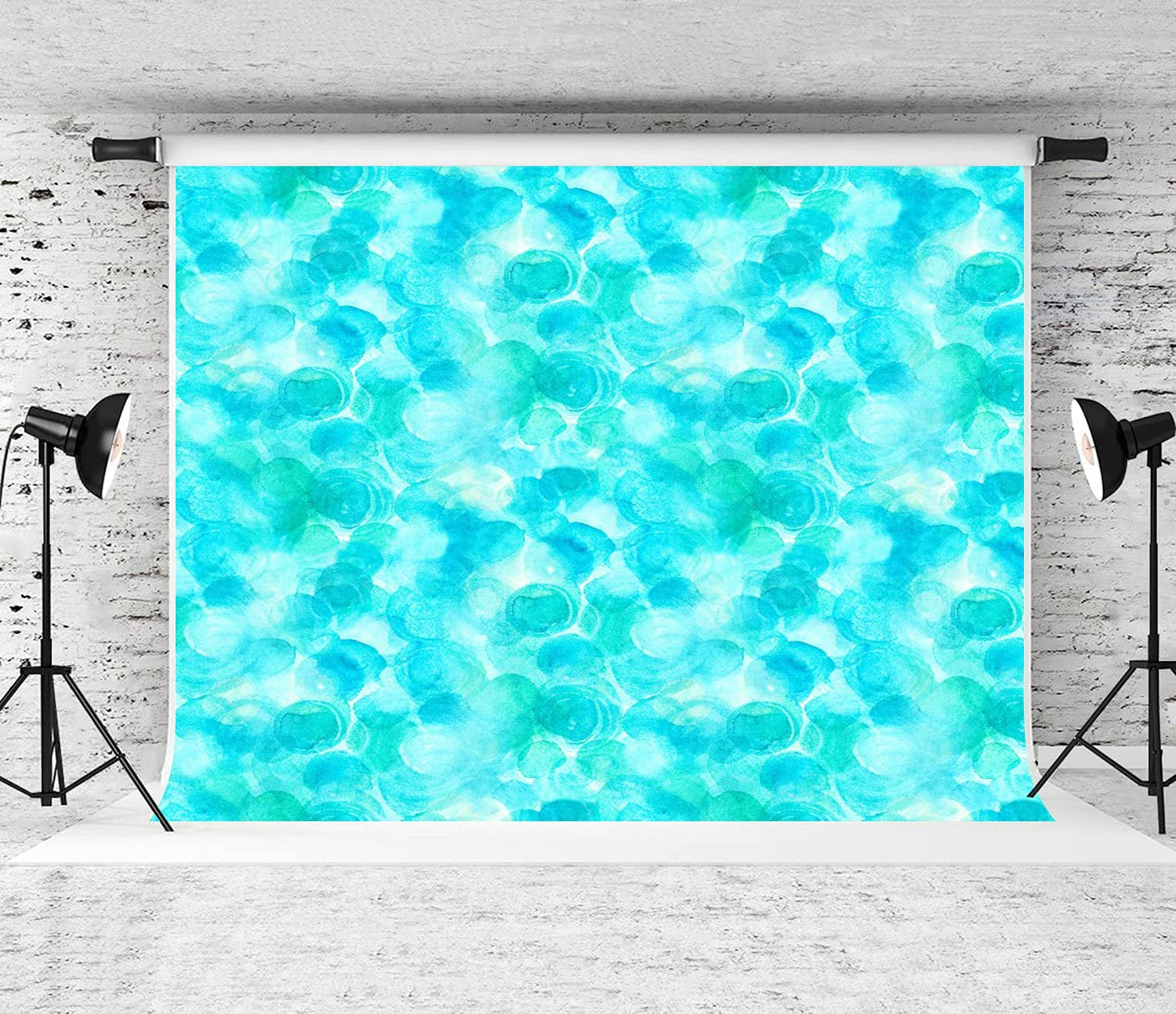ZOANEN Photography Background an Abstract Print in Watercolor half Mail order Te