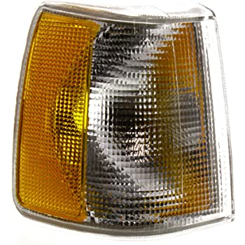 VOLVO 940 1991-1995 LH Lens and Housing Signal Lamp Parking Light Compatible with VOLVO 740 1990-1992