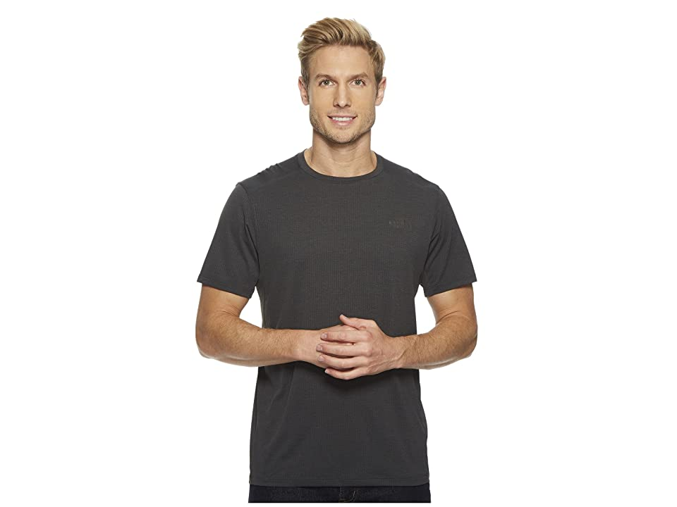 The North Face Kilowatt Short Sleeve (TNF Dark Grey Heather) Men