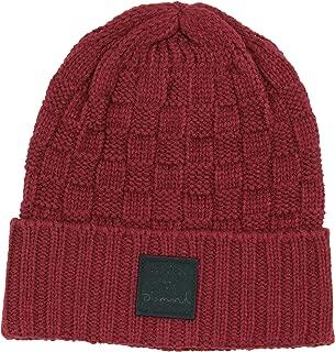 Knit Beanie (Burgundy, One Size)