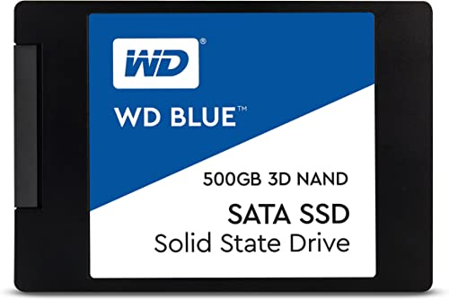 "Western Digital - WD Blue SSD - Disque SSD interne 2.5"" SATA 500Go 3D NAND"