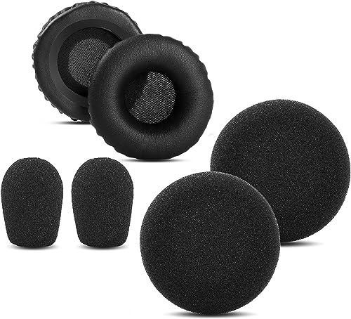 wholesale YDYBZB Ear Pads outlet sale Foam Compatible with VXI 2021 BlueParrott B250-XT Plus B250XT B150 Headset Replacement Ear/Mic Cushion Kit 6 Pcs (Style 1) sale