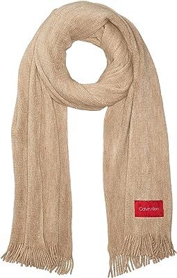Basic Wrap Knit Scarf