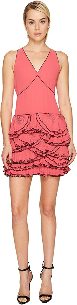 Boutique Moschino - Georgette Ruffle Dress