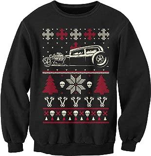 Gearhead CAR - Hot Rod Ugly Christmas Sweater Sweatshirt