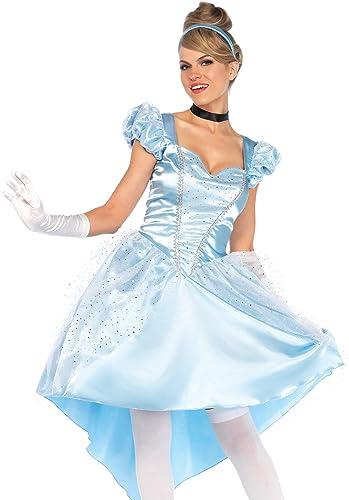 Leg Avenue 85624Bleu enchanteur Costume de Cendrillon (L 42–16, 3pièces)