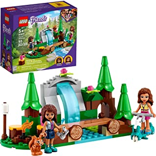 LEGO Friends Forest Waterfall 41677 Building Kit; Includes a Squirrel Toy; Ideal Gift for Kids Who Love Nature Toys; New 2...