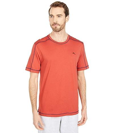 Tommy Bahama Crew Neck Lounge T-Shirt (Russet) Men