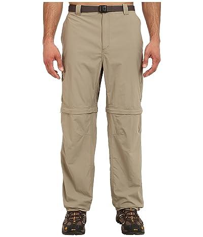 Columbia Big Tall Silver Ridge Convertible Pant (Tusk) Men