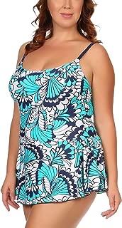 ToBeInStyle Women's One Piece Swimdress Plus Size