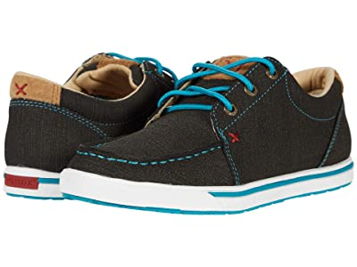 Twisted X WCA0029 (Rubberized Brown/Turquoise) Women