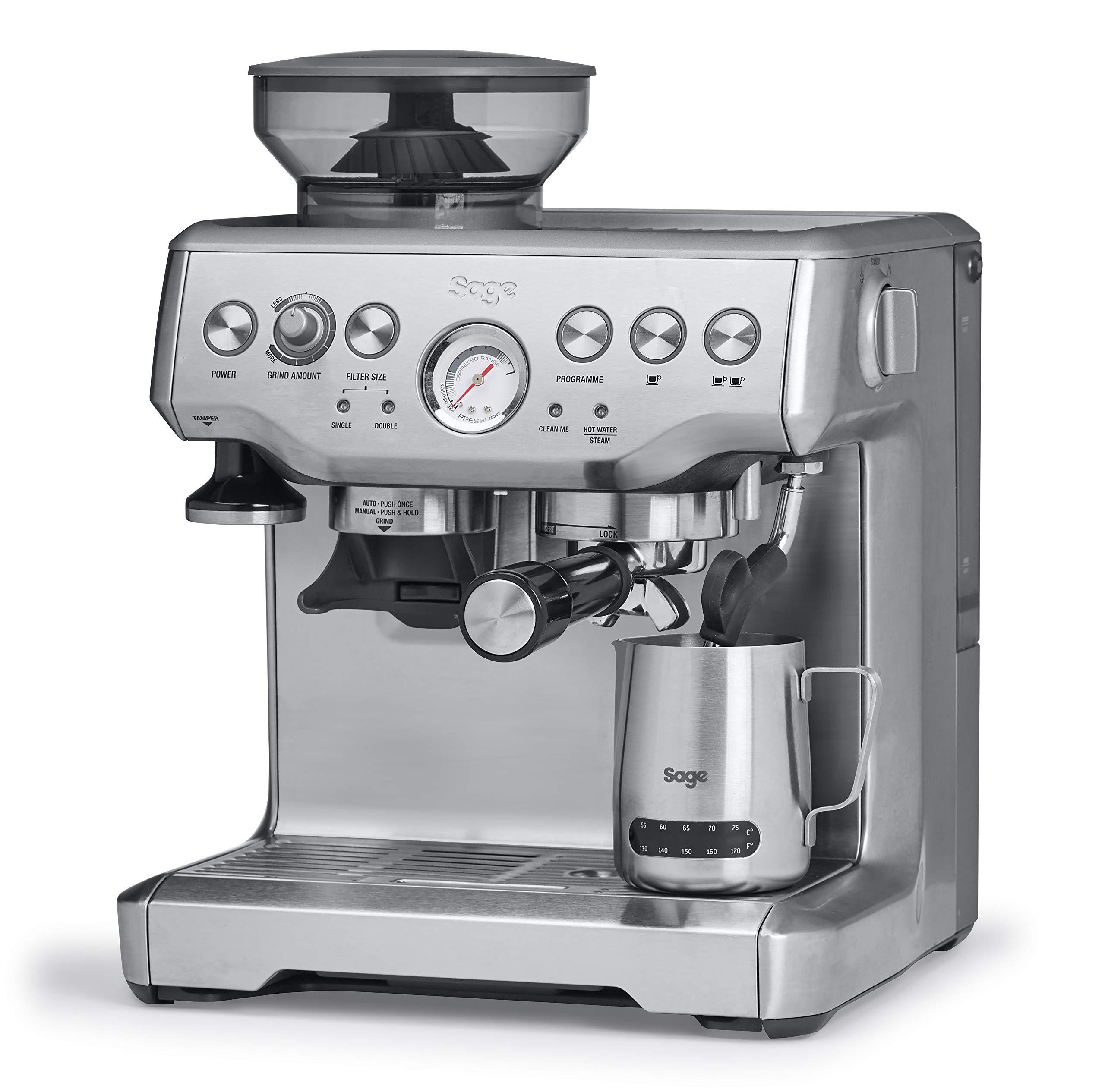 SAGE SES875 the Barista Express, Cafetera espresso, Cappuccinatore ...