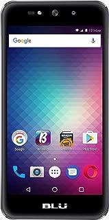 BLU Grand Max - Unlocked Dual SIM Smartphone- 8GB + 1GB RAM - Grey
