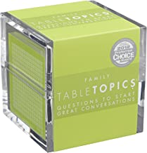 TABLETOPICS Family: Questions to Start Great Conversations