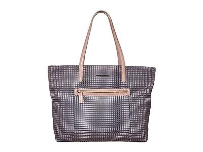 Fiorelli Charlotte Tote (Trevi Print Rosewater) Handbags