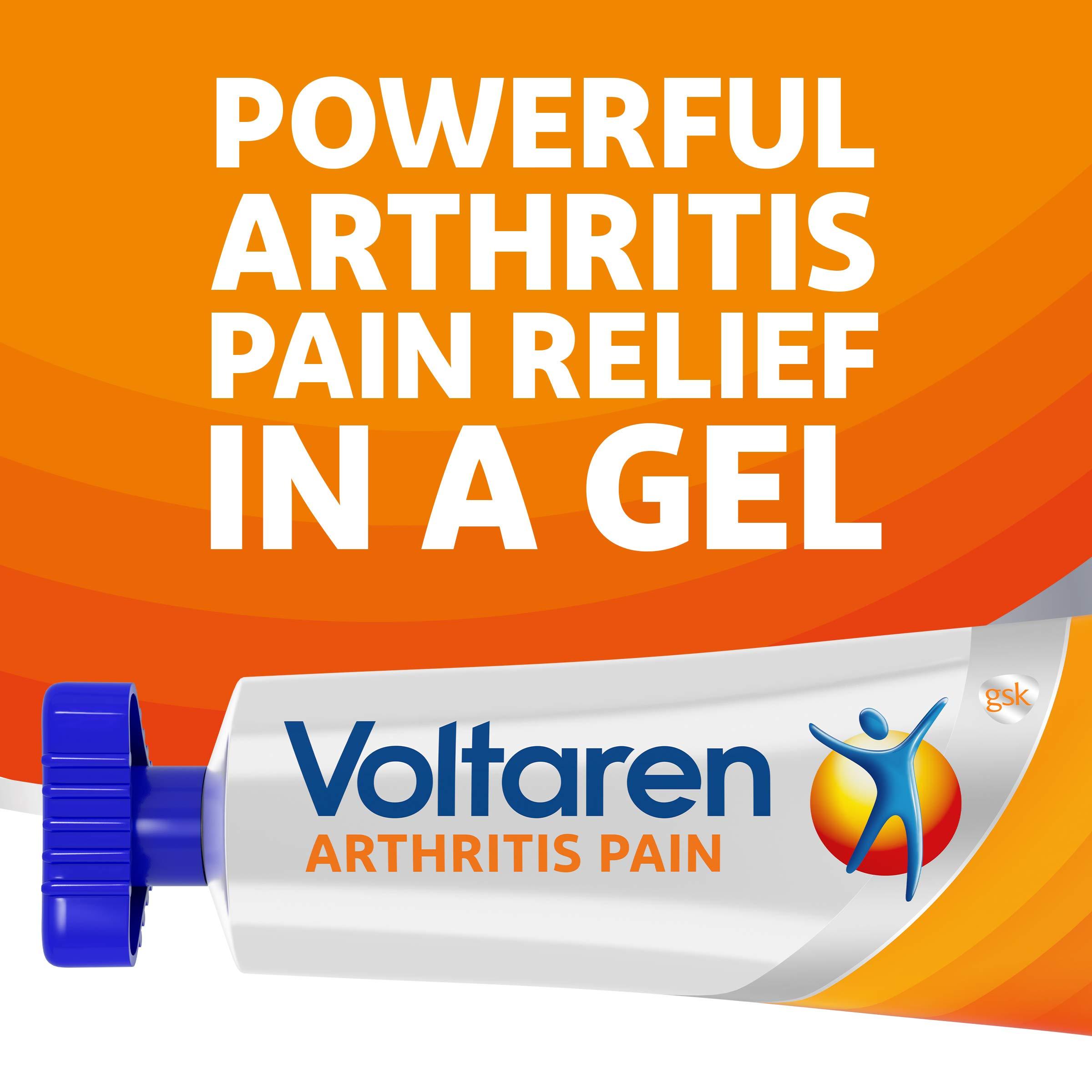 Voltaren Topical Arthritis Pain Relief Gel - 5.3 Oz 150g Tube Value Size