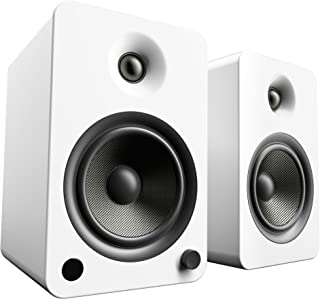 Kanto YU6 Powered Bookshelf Speakers with Bluetooth® and Phono Preamp (Matte White)