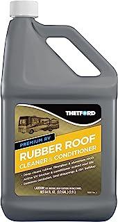 Premium RV Rubber Roof Cleaner - Non-Toxic, Non-Abrasive RV roof detergent 64 oz - Thetford 96016