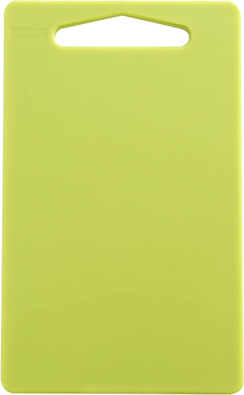 Linden Sweden Anita Cutting Board With Handle Safe For Meat And Produce Won T Dull Knives Slim Lightweight Design For Easy Storage Dishwasher Safe Sm Apple Green