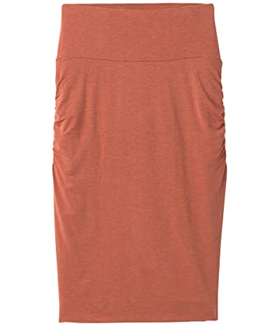 Prana Foundation Skirt (Liqueur Heather) Women